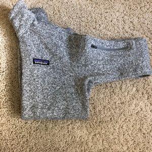 Patagonia Women's Gray Better Sweater 1/4 zip